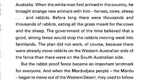 Follow The Rabbit Proof Fence Story Pdf Google Drive