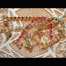 floine mosaic cross bracelets
