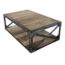 scaffolding coffee table industrial