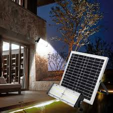 solar panel garden outdoors 5000 lumens
