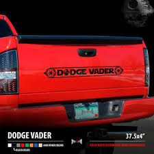Dodge Vader Star Wars Dark Side Darth Vader Car Vinyl Sticker Decal Ebay