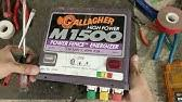Gallagher Fault Finding Check Your Energizer Youtube
