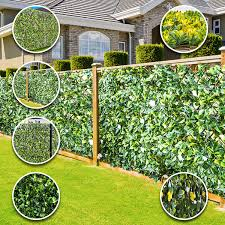 Wdc Online Extreme Instant Artificial Screening Fencing Realistic 2m X 1m Can Be Extended Summer 2m X 1m Amazon Co Uk Garden Outdoors