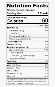 chips nutrition facts label