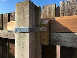Solid Concrete Post Fixing Fences To 75mmx75mm Solid Or Slotted Posts Godfather Ebay