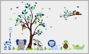 Boys Nursery Decals Nursery Wall Decals Blue Animal Decals Boys Nurserydecals4you