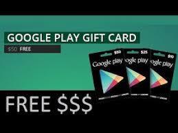 cÓdigos google play gratis