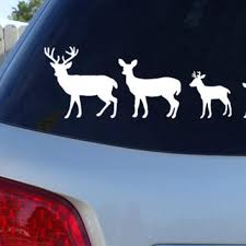 Deer Family Car Window Decal Country From Jen S Vinyl Decals