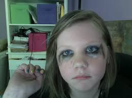 how to do emo makeup for middle
