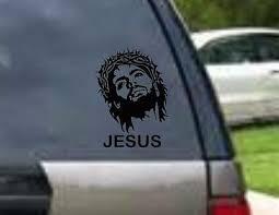 Amazing Grace Wall Art Vinyl Decals Car Window Jesus Christ God Bible New