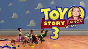 Toy Story 3 Invitacion Cumple Tercer Anito Ainoa Mp4 Youtube