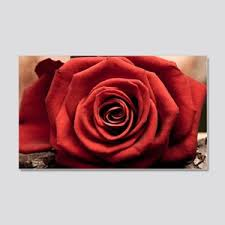 Red Roses Wall Decals Cafepress