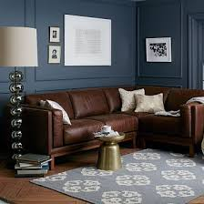 leather sofa that will mix in the warm