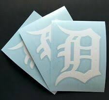Detroit Tigers Decal Products For Sale Ebay