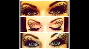 leopard eye makeup tutorial saubhaya