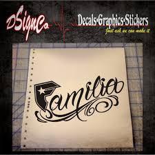 Familia Vinyl Decal Sticker Etsy