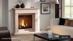 can i install a gas fire on an inside wall