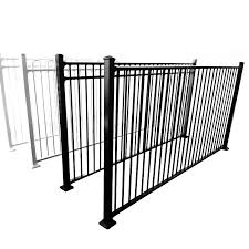 China High Quality Powder Coated 7ft High Steel Fence Design Exporter China Railing Cast Iron Fence