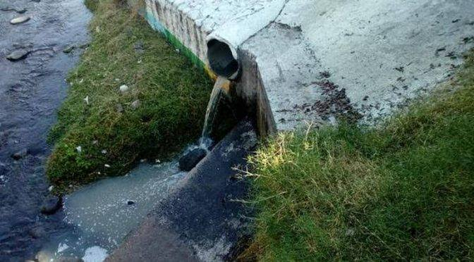 Vierten aguas negras a río en Morelos; no sirve planta tratadora