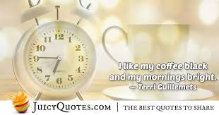 coffee morning quote picture