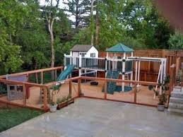 Fence Idea For Outdoor Play Set Childcare Diy Childcare Diy Fence Idea Naturalplaygo I Playground Areas Daycare Playground Outdoor Kids Play Area