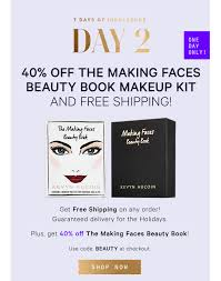 kevyn aucoin beauty day 2 40 off the