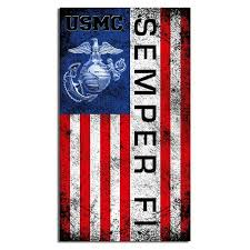 2x Marine Corps Full Color Emblem Usmc Car Window Decal Bumper Sticker Us Seller For Sale Online Ebay