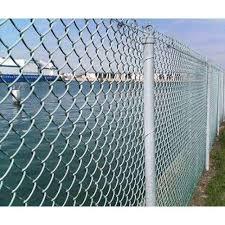 Interlink Chain Wire Fence Chain Link Fencing Manufacturer From Sundarnagar