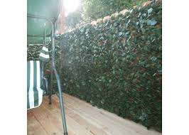 Double Sides Leaves 1pc Artificial Ivy Leaf Expandable Stretchable Fence Screen Windscreen4less