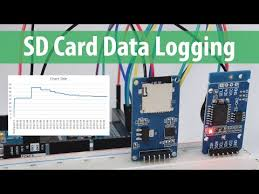 arduino sd card and data logging to