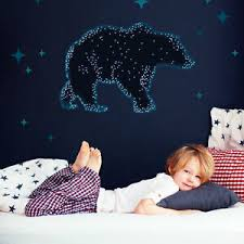 Bear Constellation Wall Sticker Space Themed Wall Stickers Wall Decals Ebay