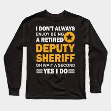 retired deputy sheriff police