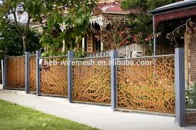 Decorative Fence Panel Buy Decorative Fence Panel Decorative Laser Cutting Perforated Metal Fence Decorative Laser Cutting Fence Screen Product On Alibaba Com