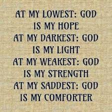quote of the day god is my everything faith quotes