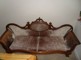 western lodge sofa couch antique cowboy