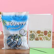 bounty chocolate anniversary greetings