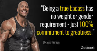 motivational the rock quotes for when the going gets tough