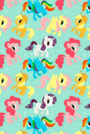 little pony characters in