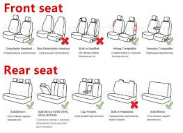 5 seats car seat covers universal fit