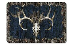 South Carolina Whitetail Buck Skull Camo Cooler Lid Skin Decal Firehouse Graphics