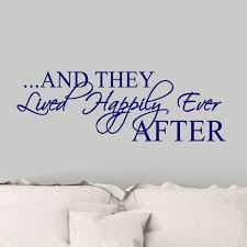 Le Prise Finchley Happily Ever After Wall Decal Reviews Wayfair