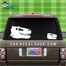 T Rex Dinosaur Skull Car Decal Graphic Window Decals