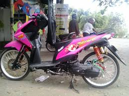 Permalink to Modifikasi Motor Beat Warna Ungu