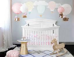 diy hot air balloon nursery theme decor