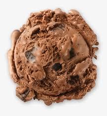 brand chocolate truffle ice cream scoop