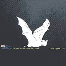 Flying Bat Vinyl Car Window Decal Sticker Wildlife Decals