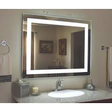 led wall mirror illuminated mirrors