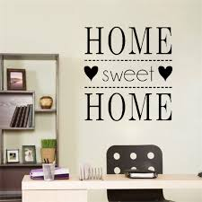 Sweet Home Vinyl Wall Stickers Family Quotes Decor For Living Room Bedroom Decoration Removable Decal Mural Wallpaper Leather Bag