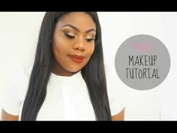 prom glam makeup tutorial 2016 dark