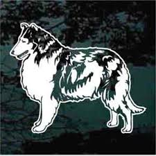 Collie Car Decals Stickers Decal Junky